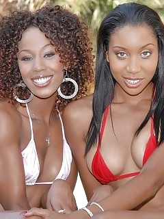 Sperm Check Out Leilas And Mistys Arse Pleasure These Two Excited Black Beauties Get Dicked And Splooged On